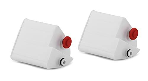 Tefal Moulinex XD9030E0 - Cartucho antical para centros de planchado, adecuado para el generador de vapor Purely and Simply SV501 & Purely and Simply SV502, Paquete de 2