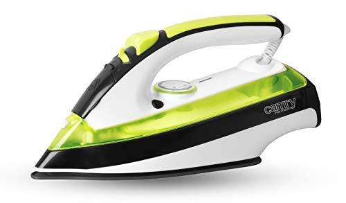 Camry CR5025 Plancha Vapor 2600W CR-5025, 2600 W, 0 Decibeles, Cerámica, verde
