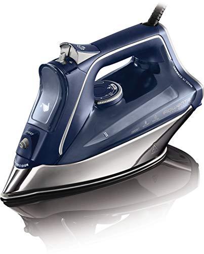 Rowenta Pro Master DW8215 - Plancha de vapor 2800 W, golpe de vapor de 200 g/min y vapor continuo de 40g/min, Suela Microsteam 400 HD Profile, Modo Eco y sistema antical integrado