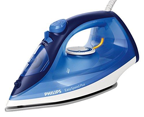 Philips EasySpeed Plus GC2145/20 - Plancha de vapor (2100 W, 110 g, suela de cerámica), color azul