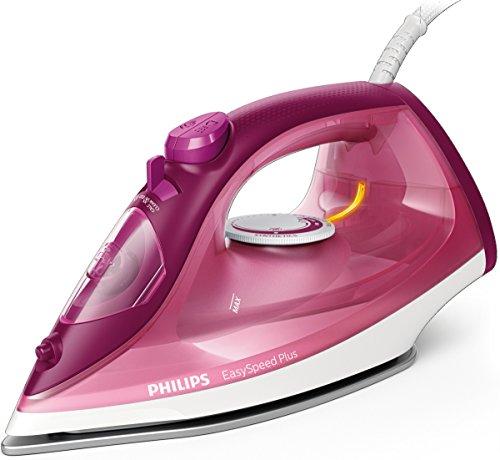 Philips EasySpeed Adv GC2146/40 - Plancha Ropa Vapor, 2100w, Golpe Vapor 110 g, Vapor Continuo 30 g, Suela Ceramica, Antical Integrado