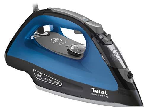Tefal Comfortglide FV2664E0 - Plancha de vapor, 2500 W, golpe de vapor 150 gr/min, vapor continuo 40 gr/min, suela cerámica, recolector antical