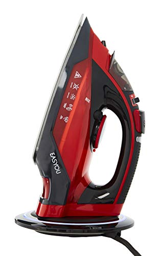 Senya SYIR6-I016 Plancha de Vapor, 2400 W, Stainless Steel, rojo