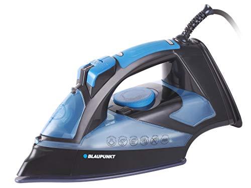 Blaupunkt HSI701 Plancha de Vapor, 2600 W, 0.32 litros, 0 Decibelios, Polímero Libre de BPA, Azul