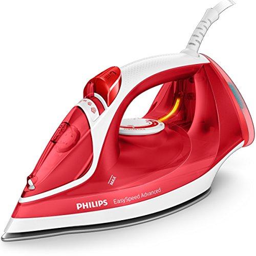 Philips EasySpeed Adv GC2672/40 - Plancha Ropa Vapor, 2300w, Golpe Vapor 180 g, Vapor Continuo 35 g, Suela Ceramica, Antical Integrado