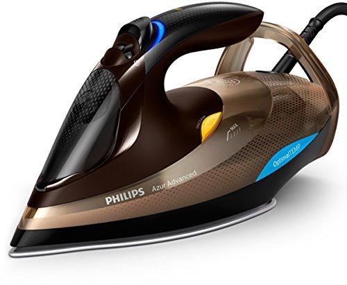 Philips GC4936/00 - Plancha (Plancha a vapor, SteamGlide Advanced, 2,5 m, 230 g/min, Negro, Marrón, 55 g/min)